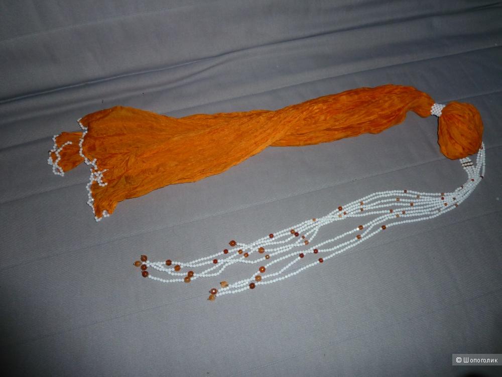 Колье с шарфом RAJOLA общая длина 130 см