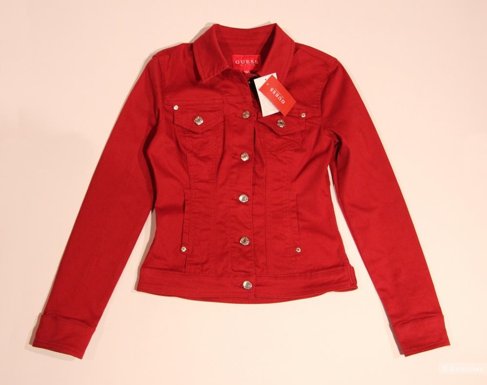 Джинсовая куртка GUESS размер 40-42(XS)