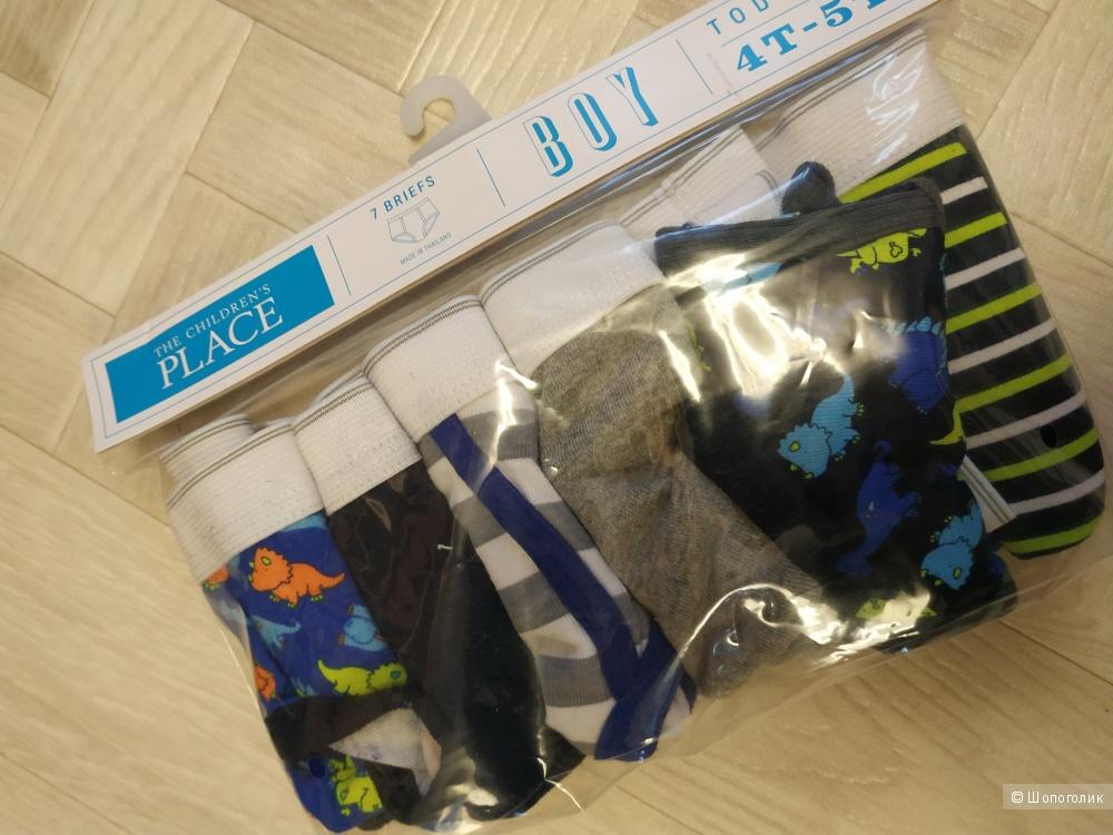 Детские трусы, размер 4т-5т (на 3-4 года) для мальчика The Children's Place (США)