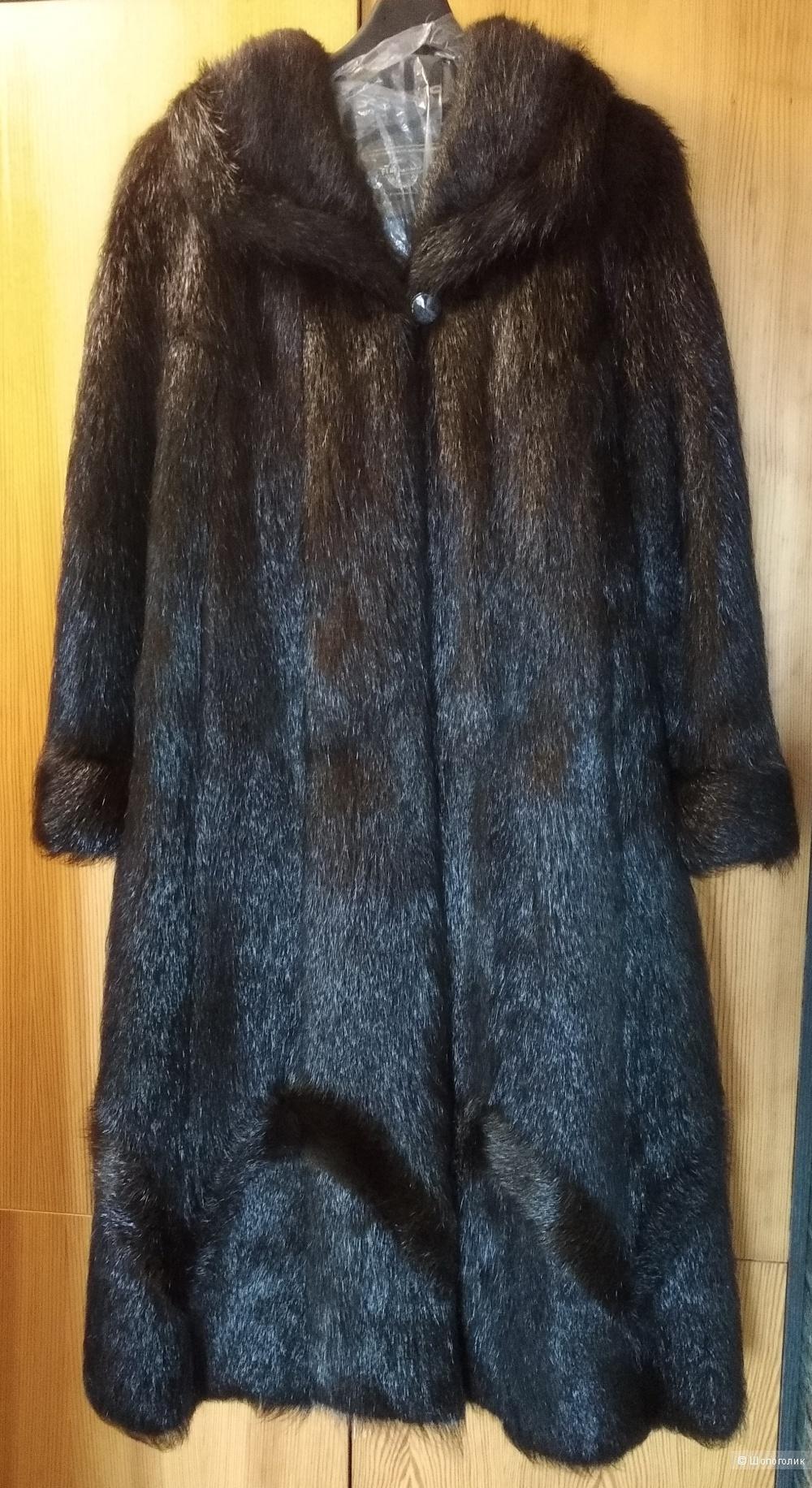 Шуба нутриевая, Fur Natural, р.48-50-52