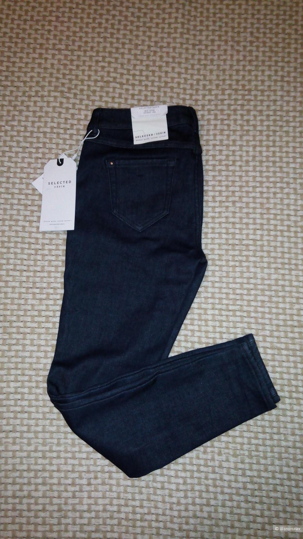 Утепленные джинсы SELECTED, 27 размер