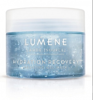 Гель - Маска  для лица Hydration recovery aerating mask Lumene 150ml