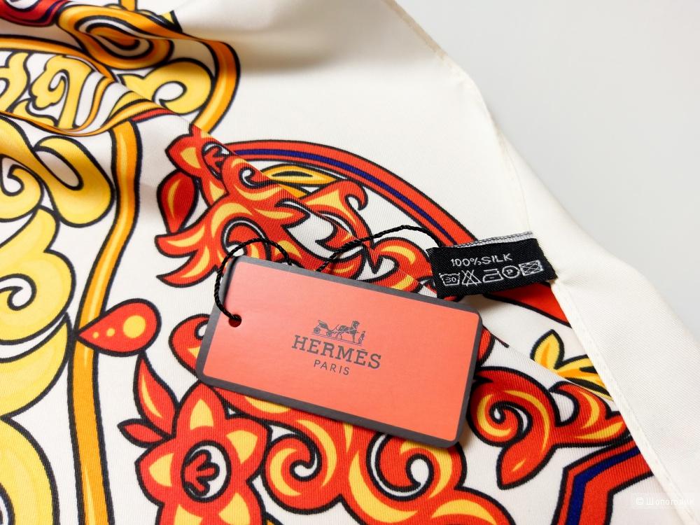 Платок Hermes, 90*90 см.