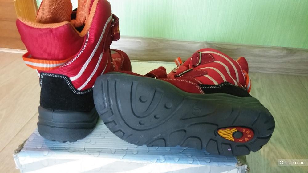 """Ботинки """"зебра"""", размер 31"""