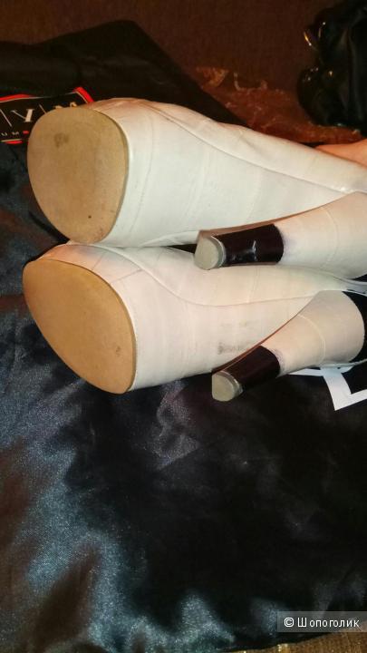 Туфли YSL кожа угря 38 размер