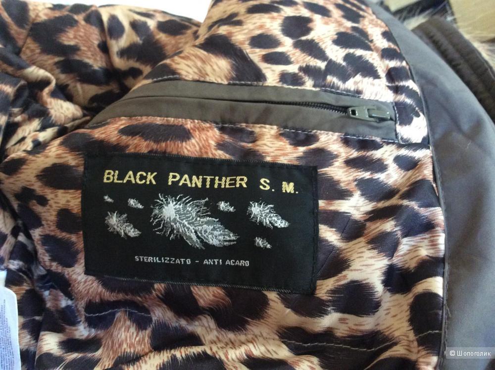 """Пуховик-бомбер для подростка, «Black Panther"""", size M"""