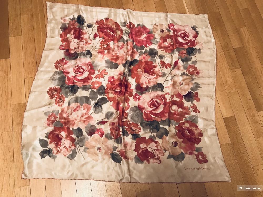 Платок шелковый Ralph Lauren большой 80*80 см