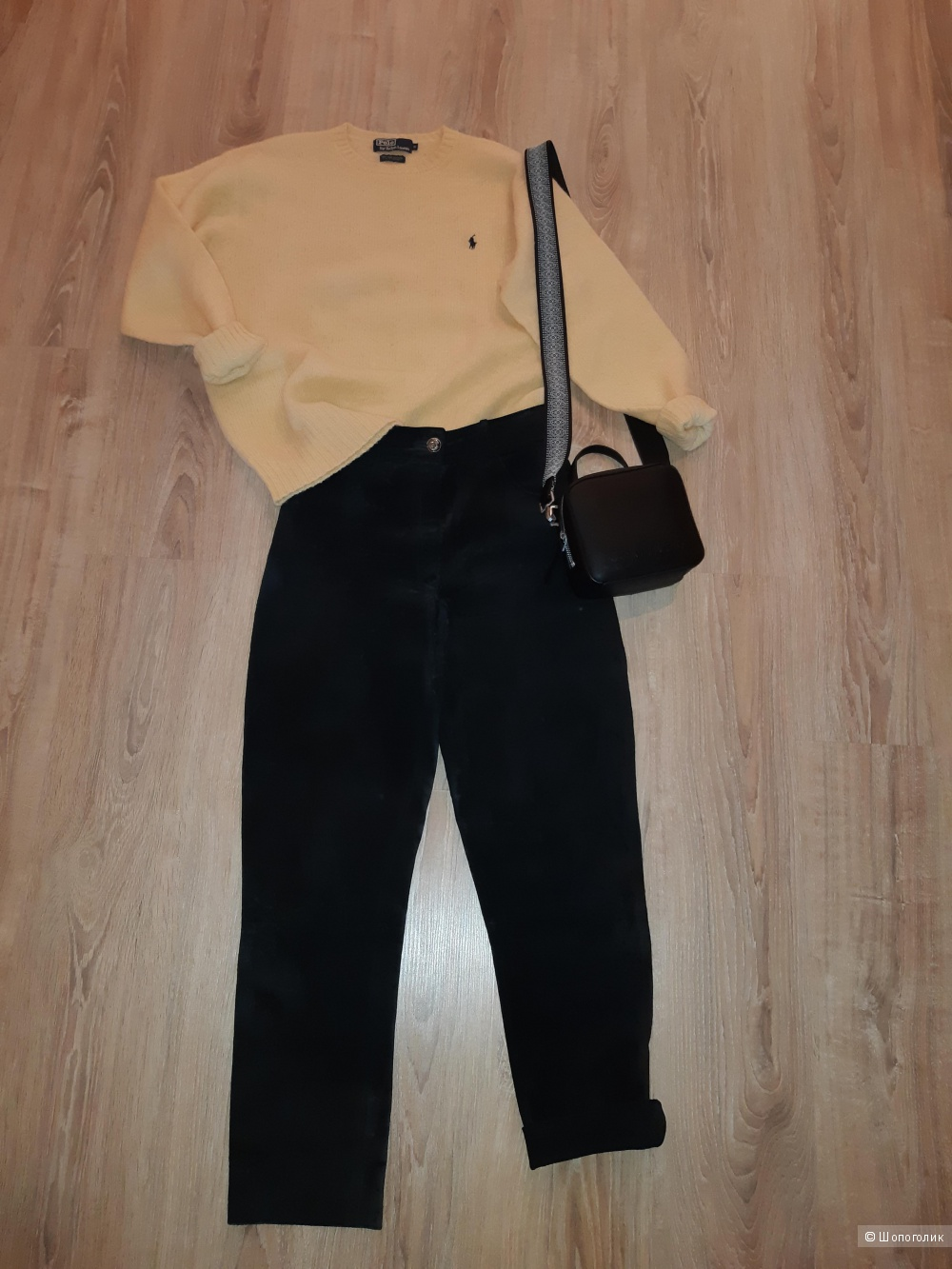 Замшевые брюки no name, размер 44-46