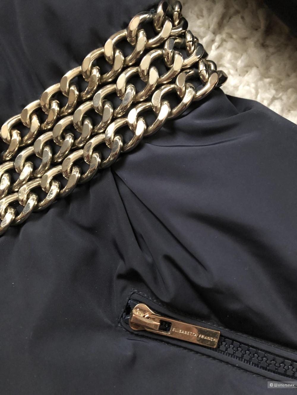 Куртка пуховик Elisabetta Franchi р.44it