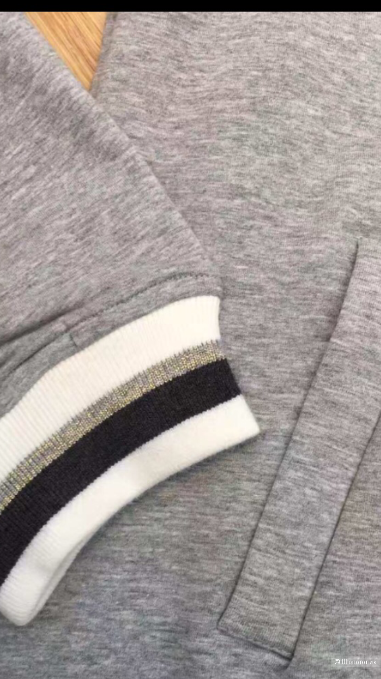 Костюм спорт-шик Brunello Cucinelli,серый,размер 46