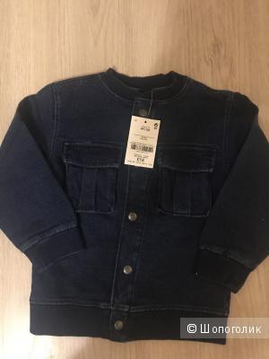 Джинсовая куртка Next на 2-3 года