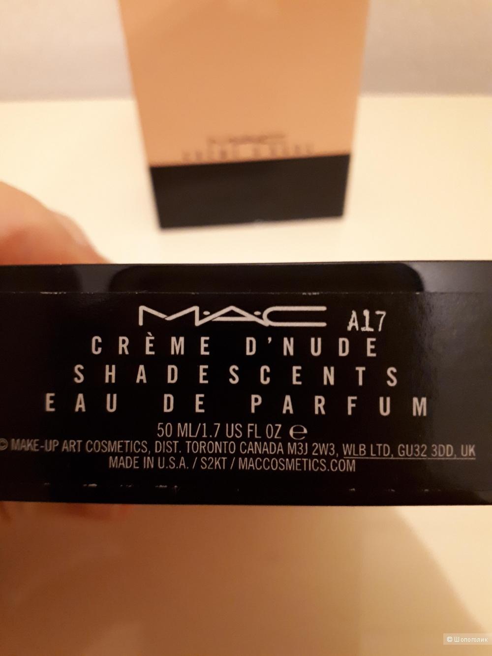 Парфюм Mac Creme de nude, 50 ml