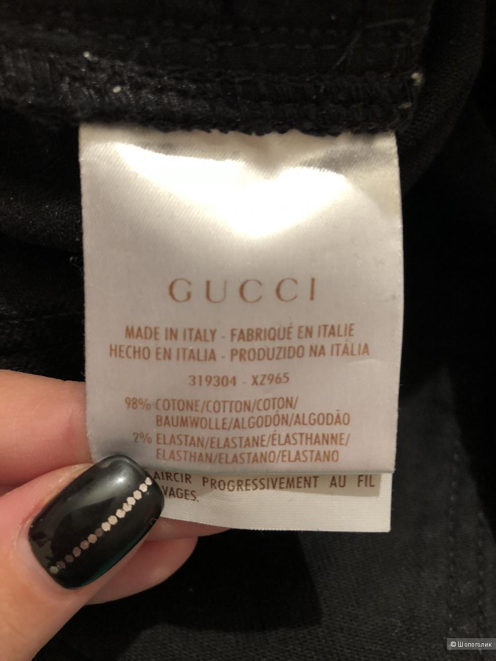 Джинсы Gucci, размер 44