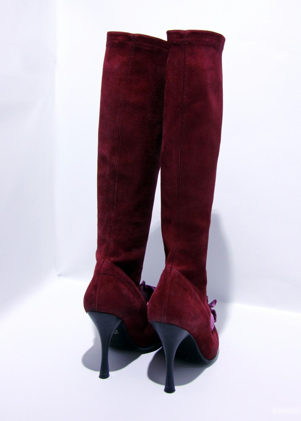 Замшевые сапожки Mary Atkins размер 36