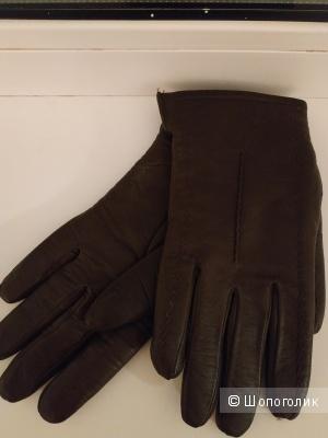 Кожаные перчатки Румыния размер 7,5