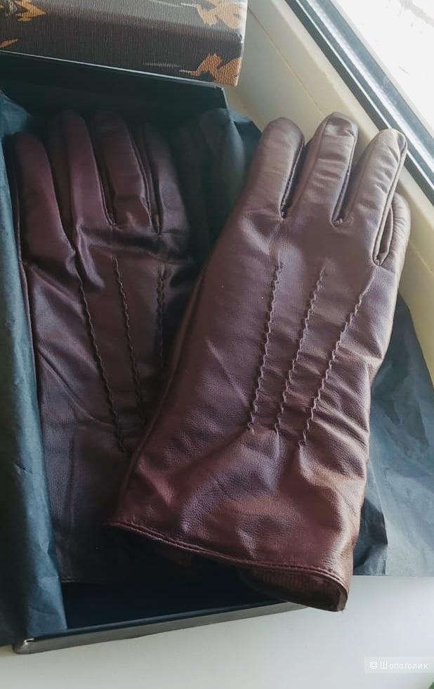Кожаные перчатки  Trucco, 7,5 размер