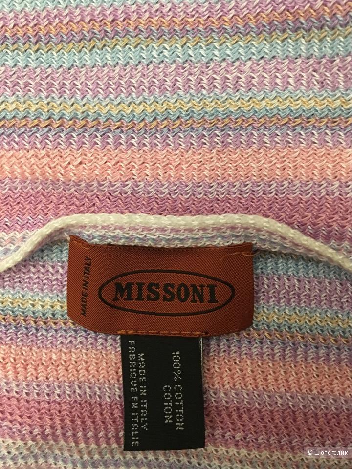 Хлопковый шарф Missoni