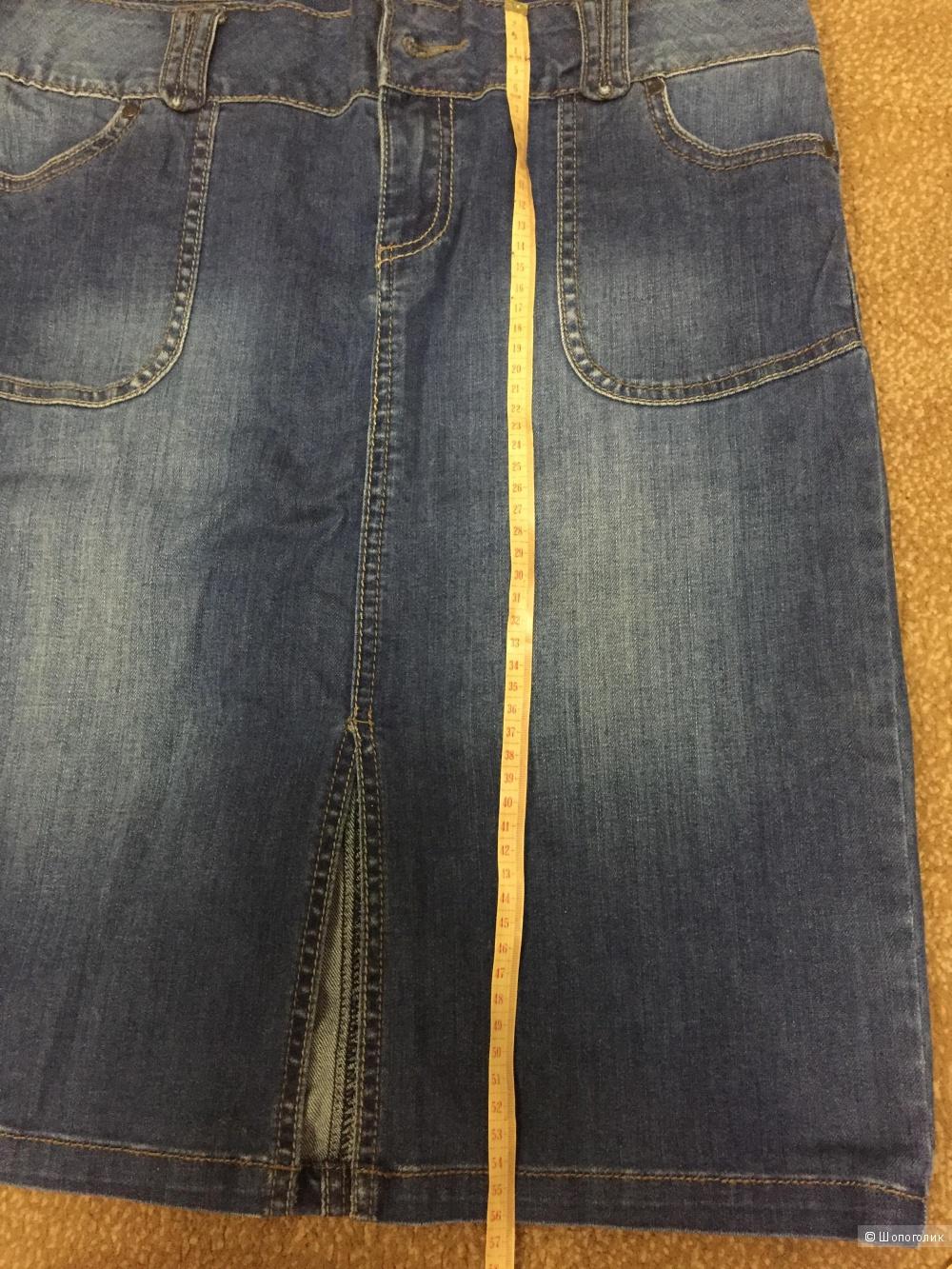 Джинсовая юбка Camaieu 46