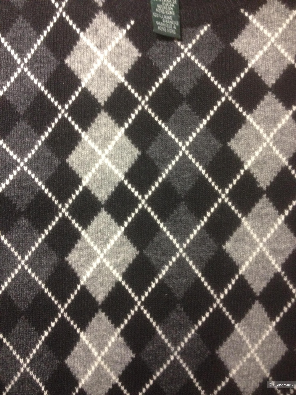 Пуловер 100% шерсть Ralph Lauren размер 48-50