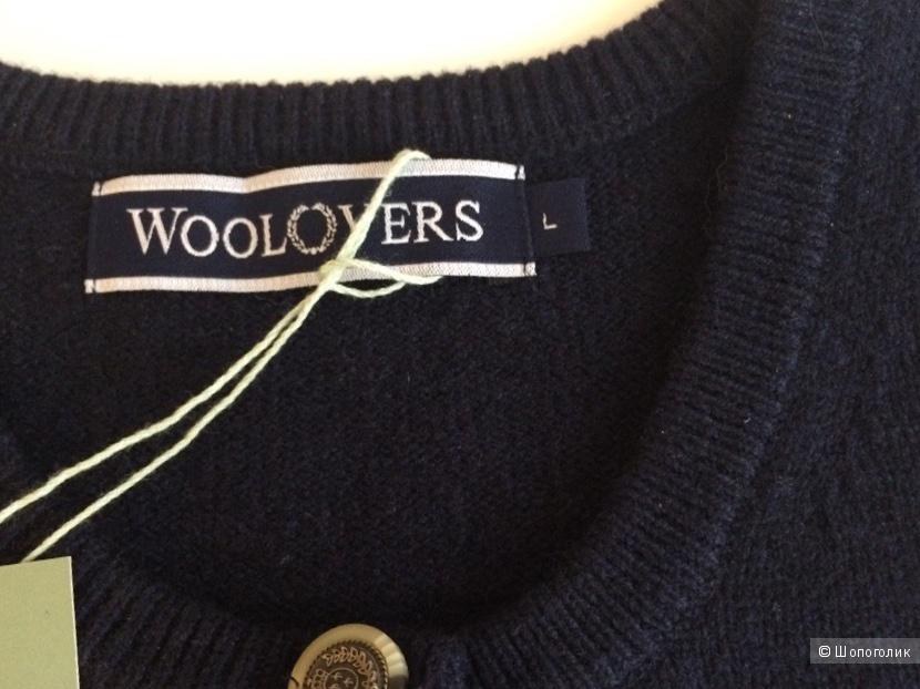 Женская шерстяная кофта Woolovers размер L