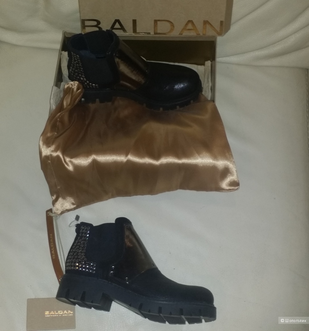 Ботинки Baldan , eur 38, наш 38,5 - 39