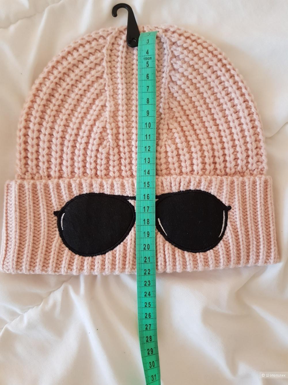 Женская шапка Karl Lagerfeld. Единый размер