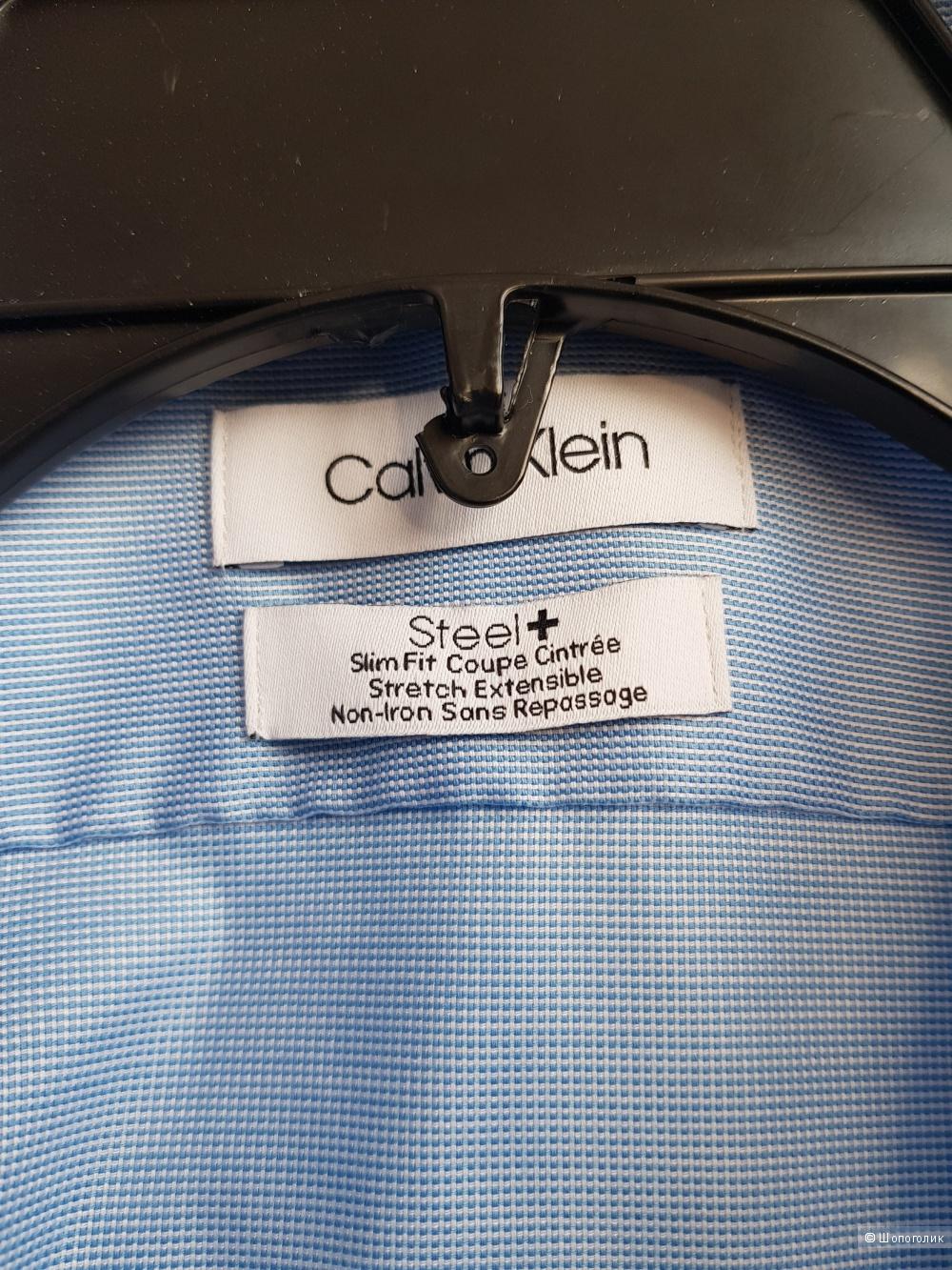 Мужская рубашка Calvin Klein Размер (17,5) 54 (+)