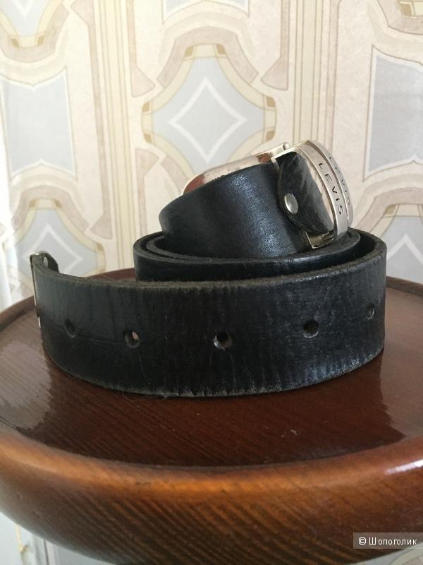 Кожаный ремень Levis, M-XL