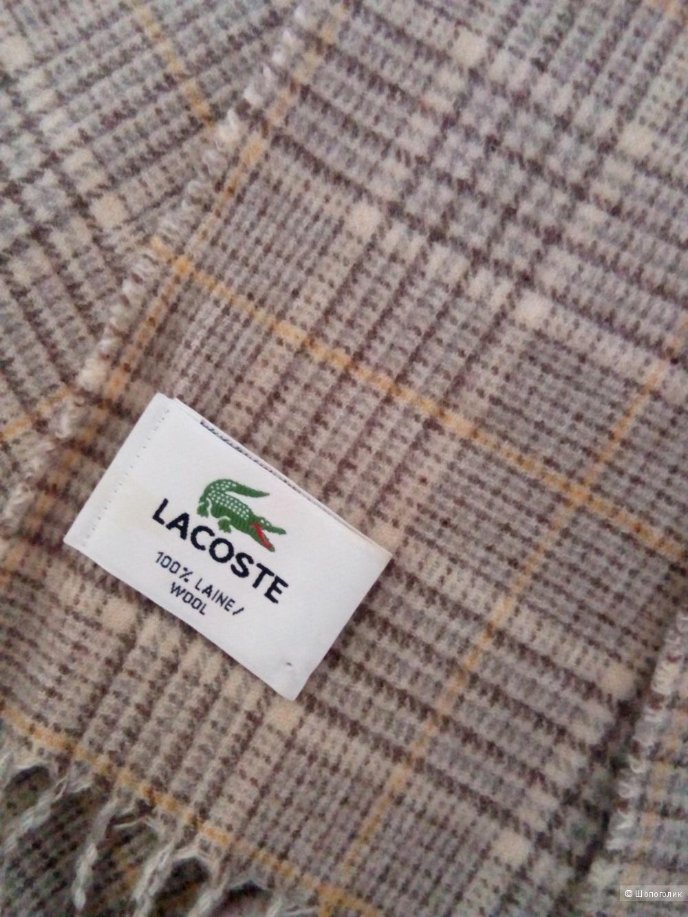 Шарф LACOSTE, размер  157 см