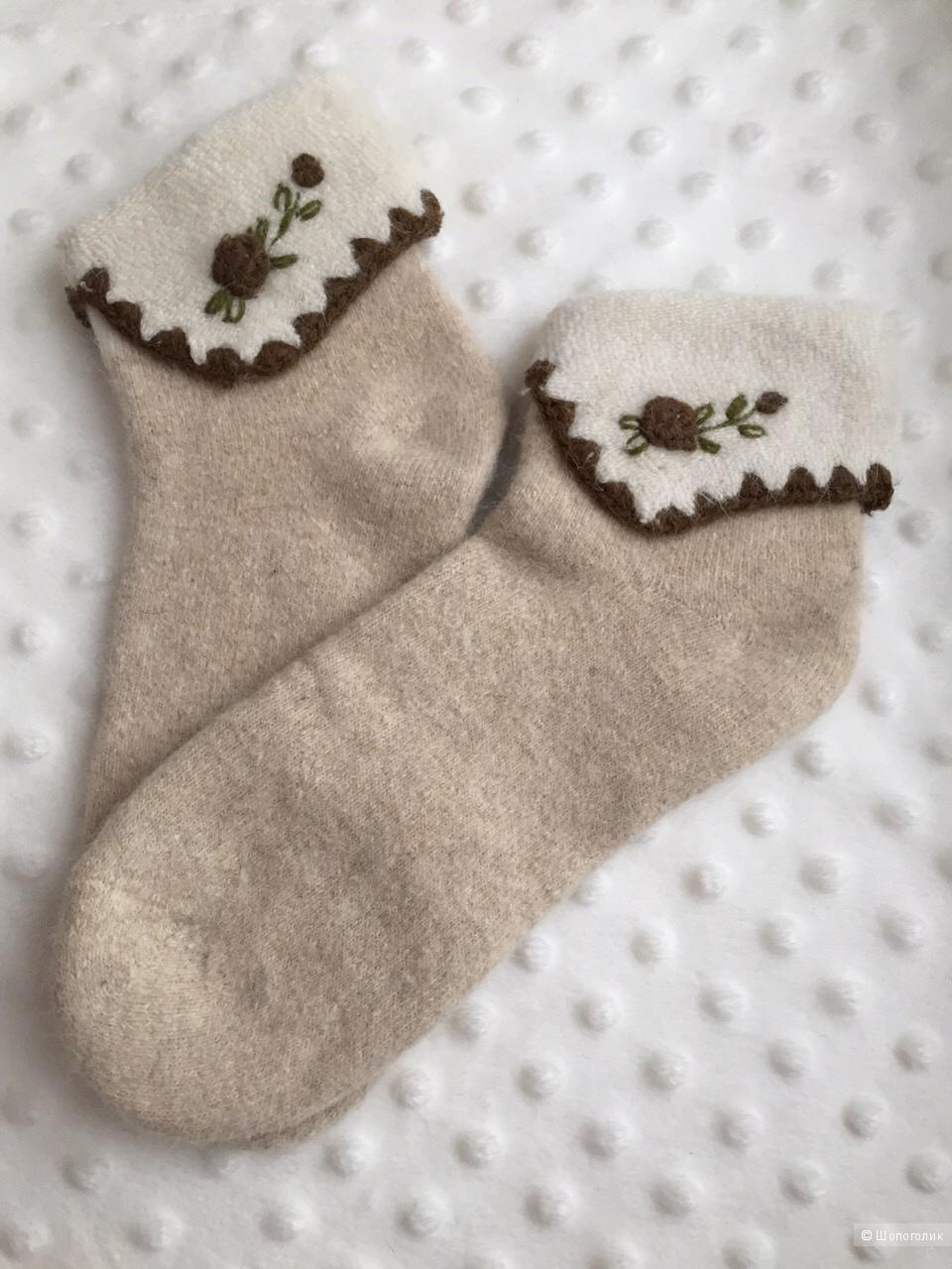 Носки из ангорской шерсти,р-р. 36-39