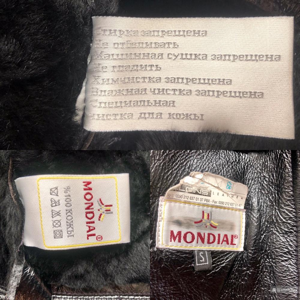 Дубленка Mondial оригинал, размер XS-S