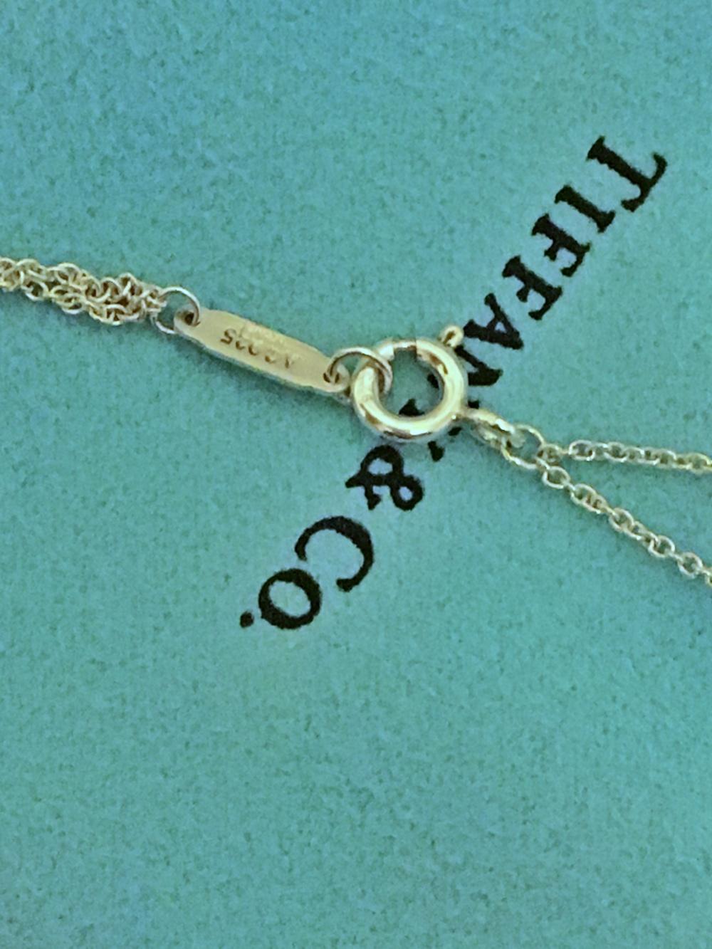 Подвеска Tiffany&co, серебро 925 пробы