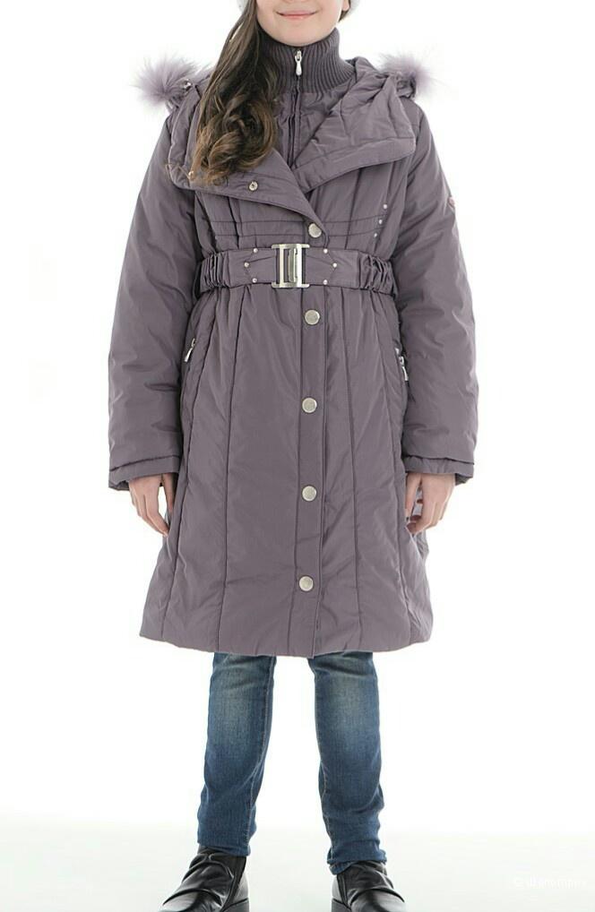 Пуховик /пальто зимнее Шалуны,  размер 158