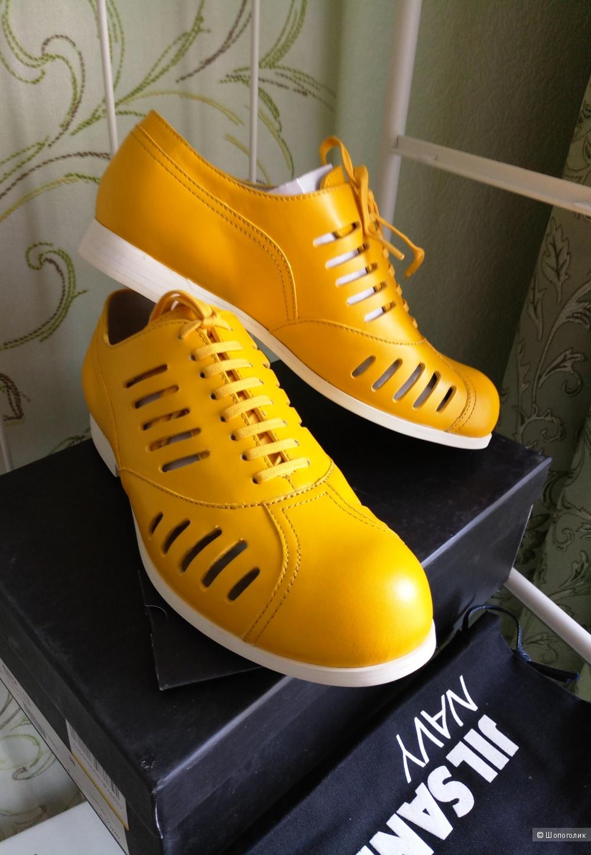 Ботинки Jil Sander Navy размер 38