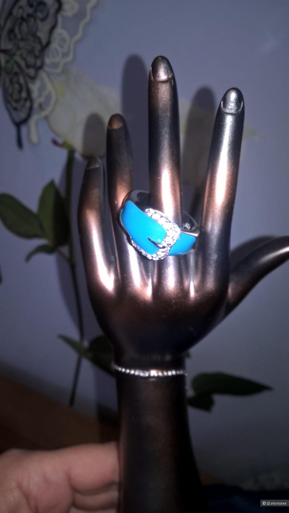 Кольцо из серебра 16,5 размера