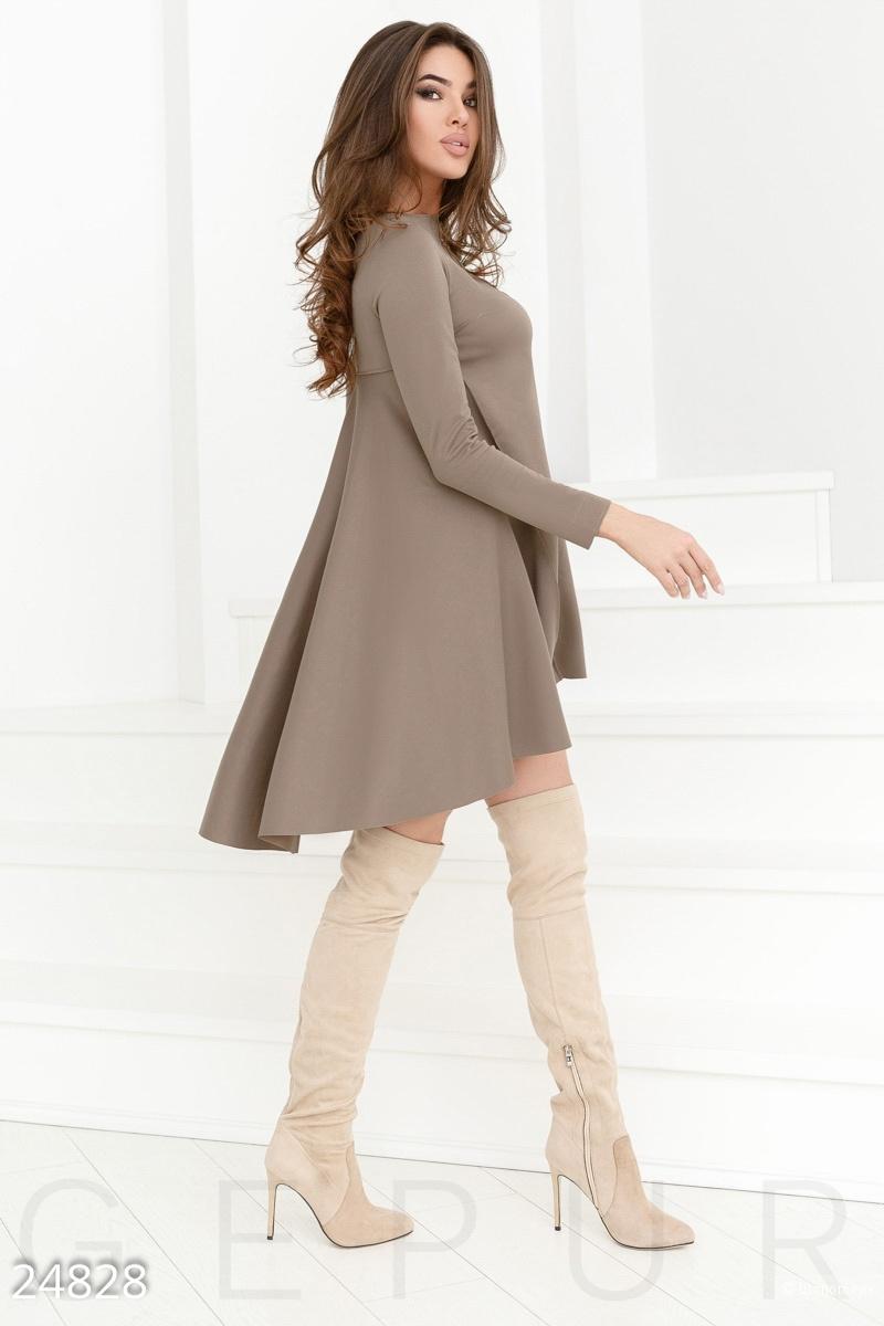 Трикотажное платье-клеш. Размеры M.L.XL.2XL.3XL