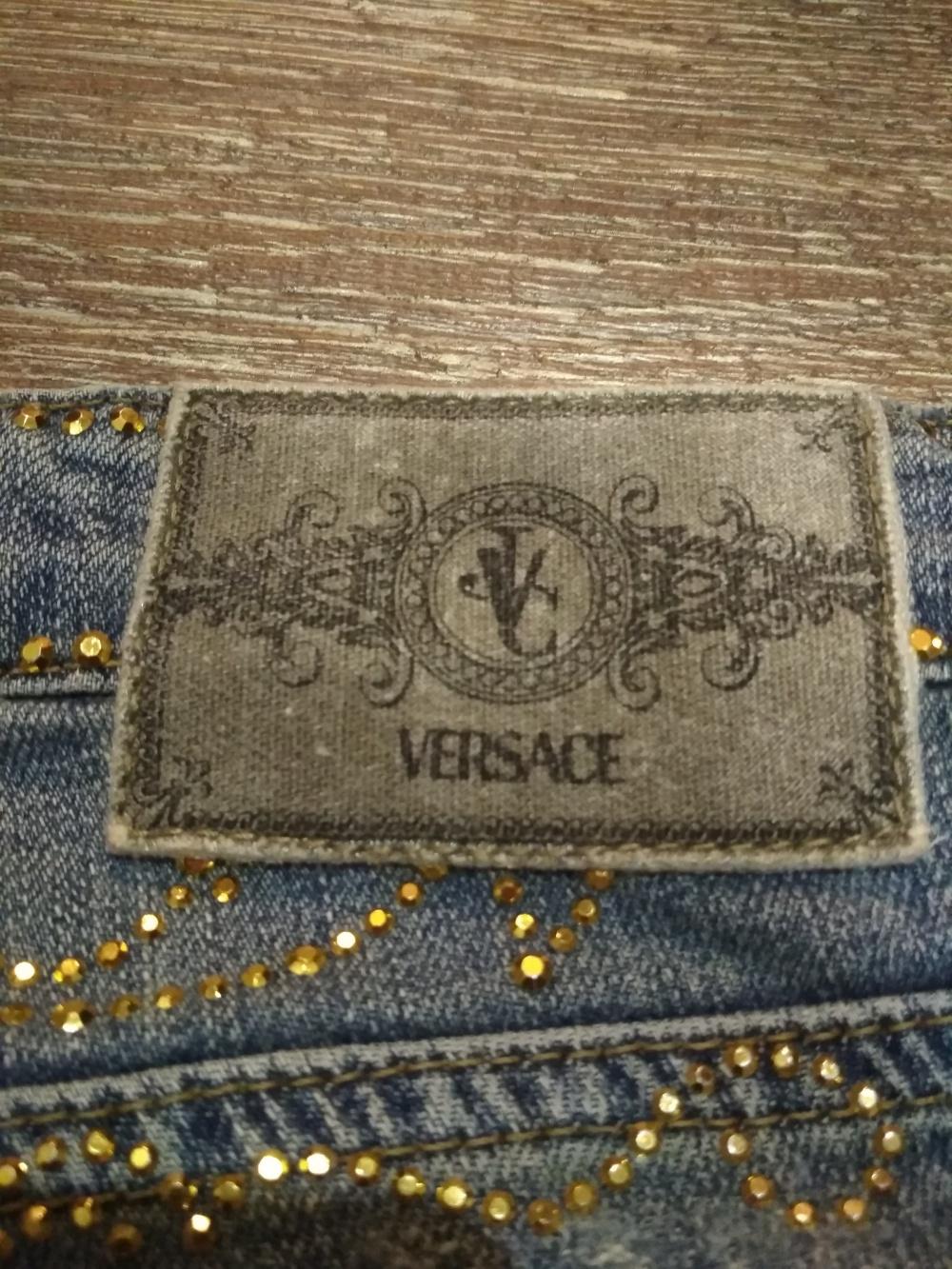 Джинсы Versace 40-42