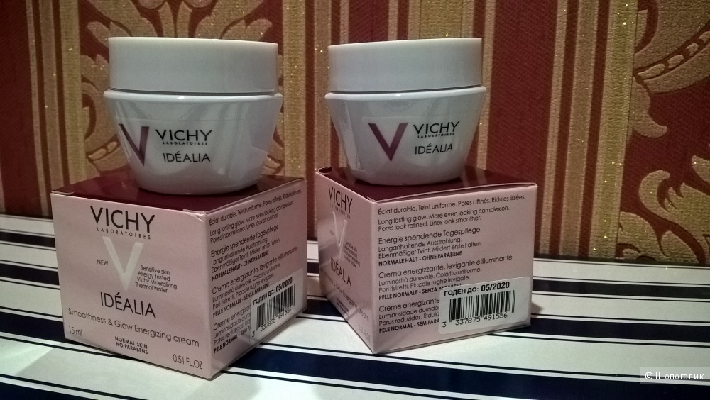 Крем для лица Vichy Idealia Smooth & Glow Energizing Cream 15 мл * 2 шт
