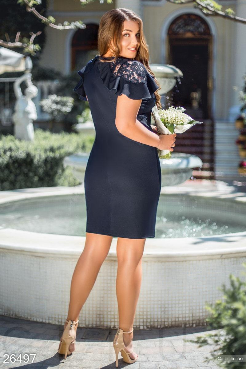 Платье с крылышками .Размеры XL.2XL.3XL