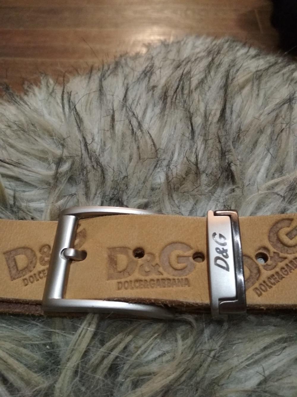 Ремень Dolce&Gabbana 120