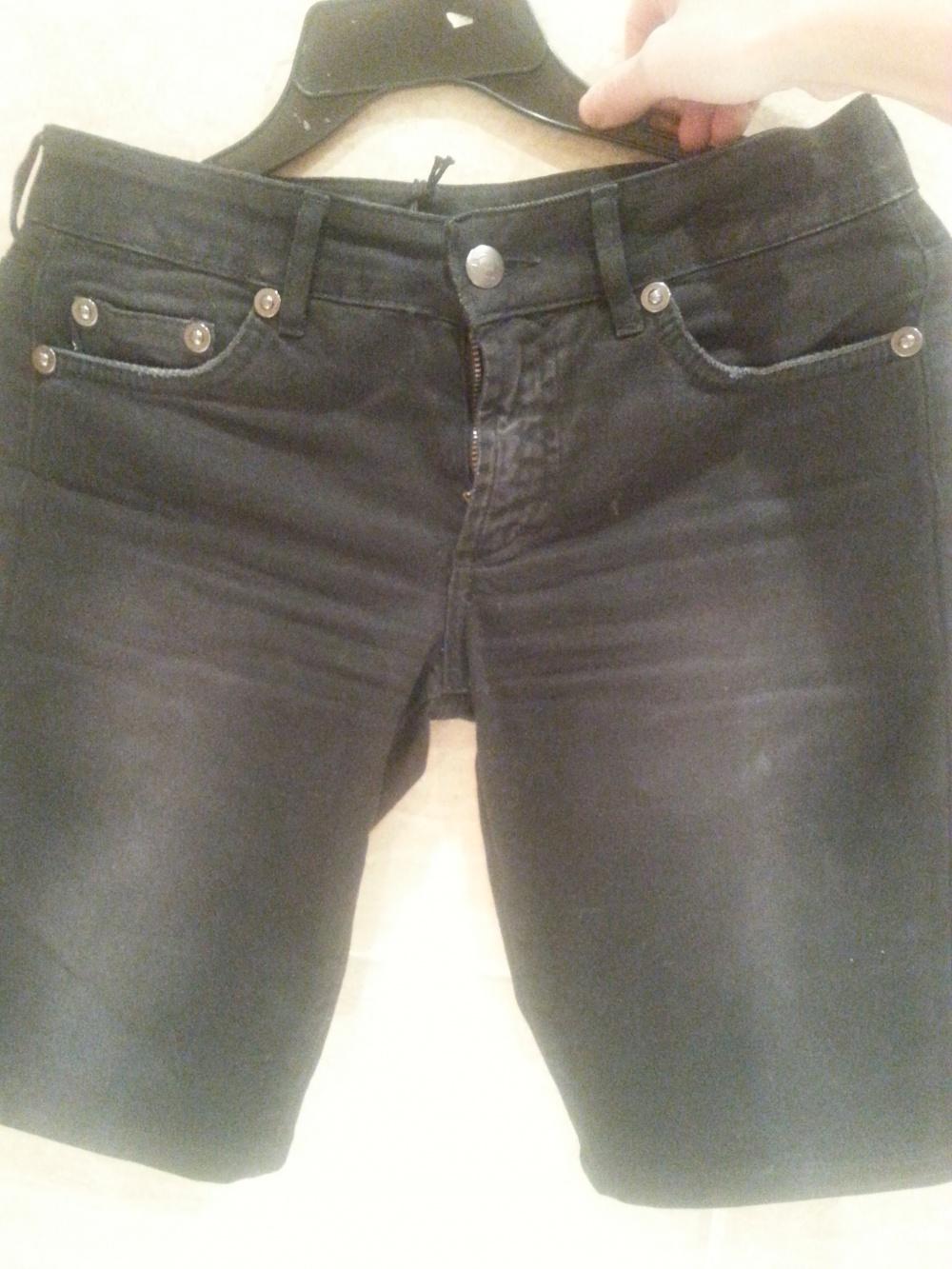 Just cavalli джинсовые шорты 26 размер