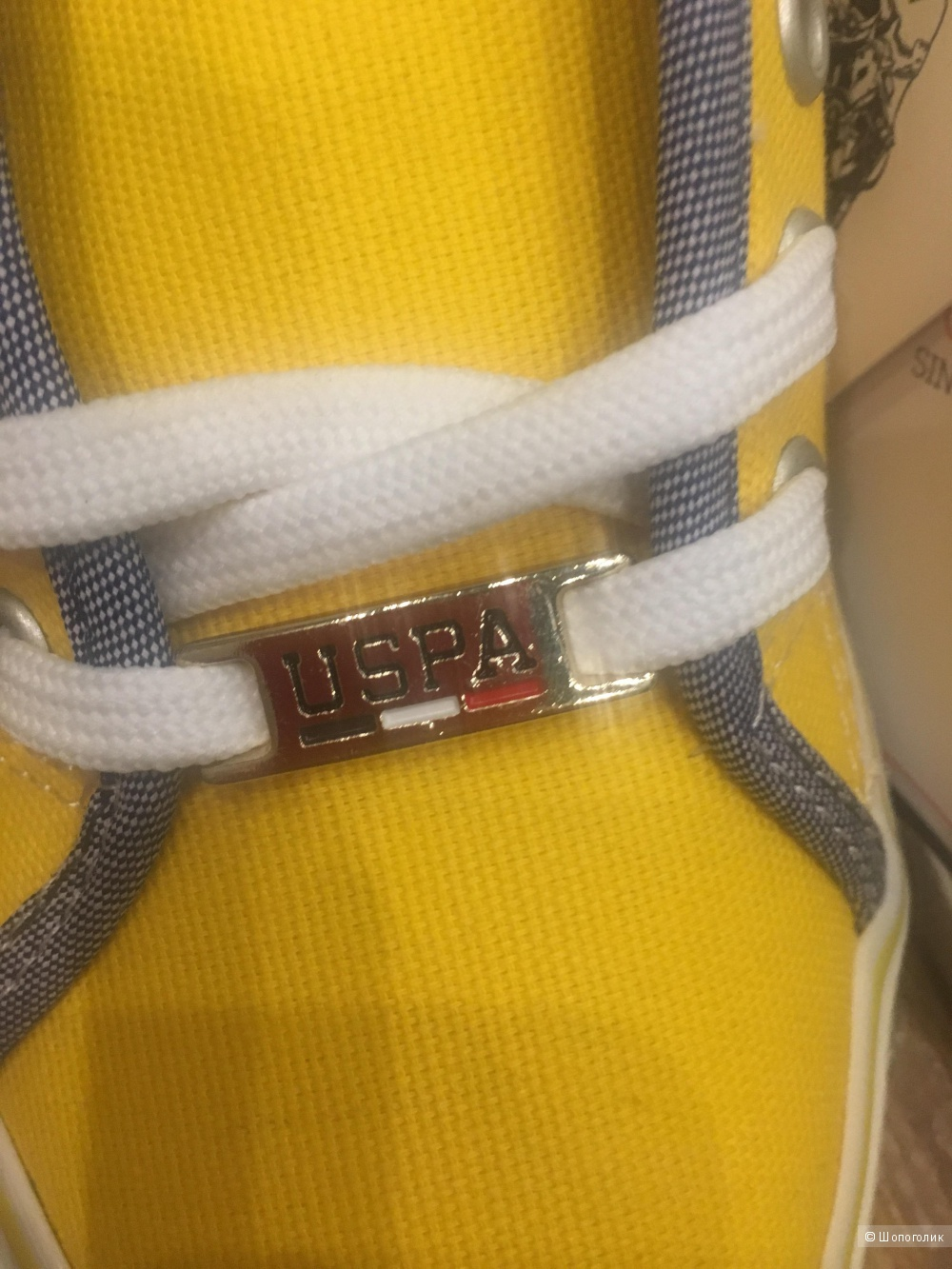 Кеды U.S.Polo Assn 36 размер