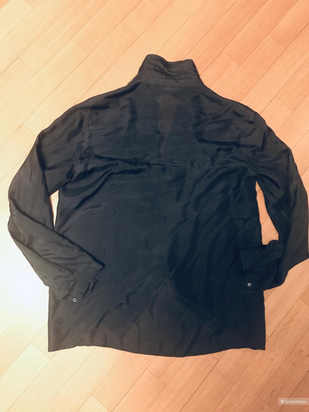 Шелковая блуза Massimo Dutti 40 , М ( 44 - 46 рус)