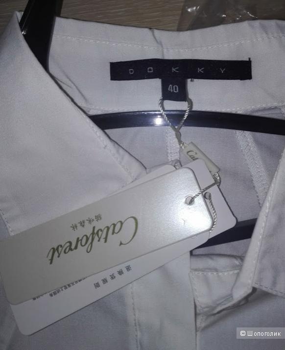 Платье-рубашка no name . 46-48 размер .