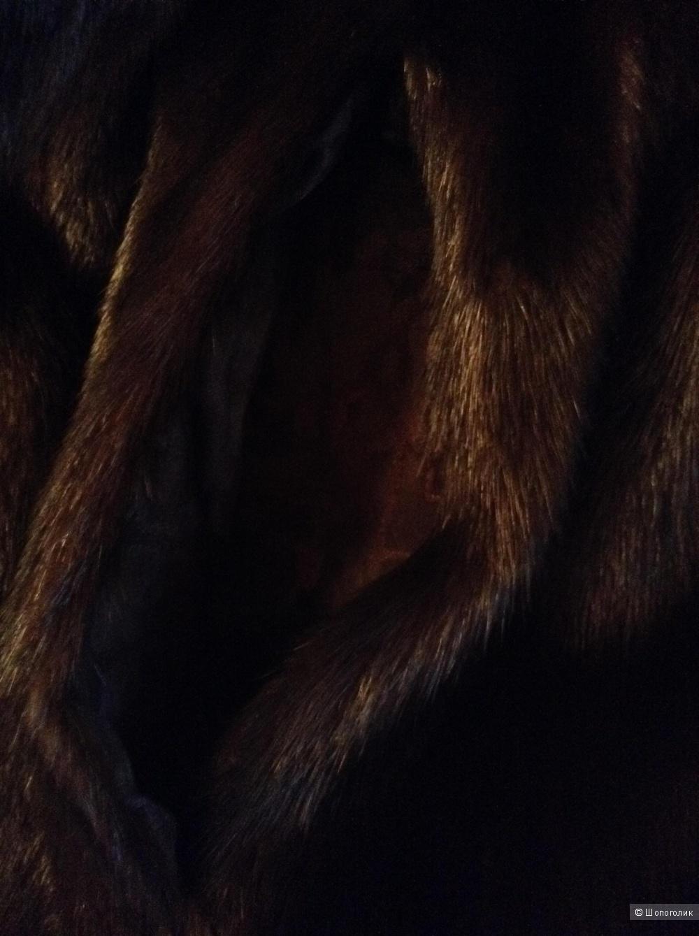Шуба норковая Flaumfeder, размер 42-44-46