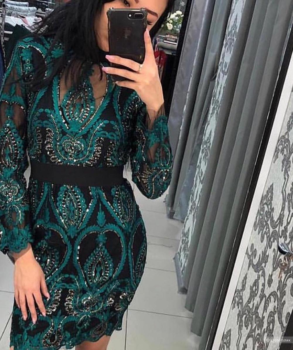 Платье кружевное EMERALD, 42-44