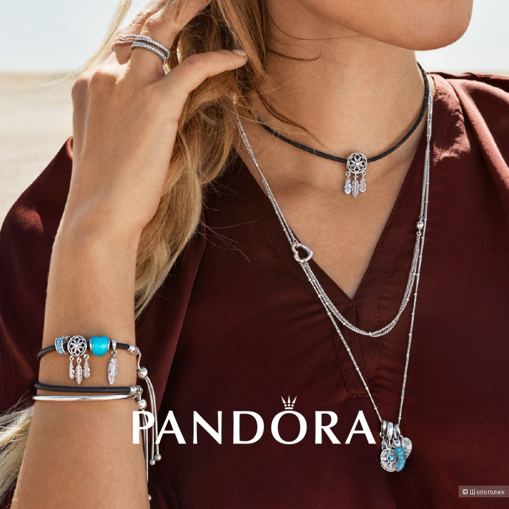 "Колье-цепочка ""Pandora"" 70см"