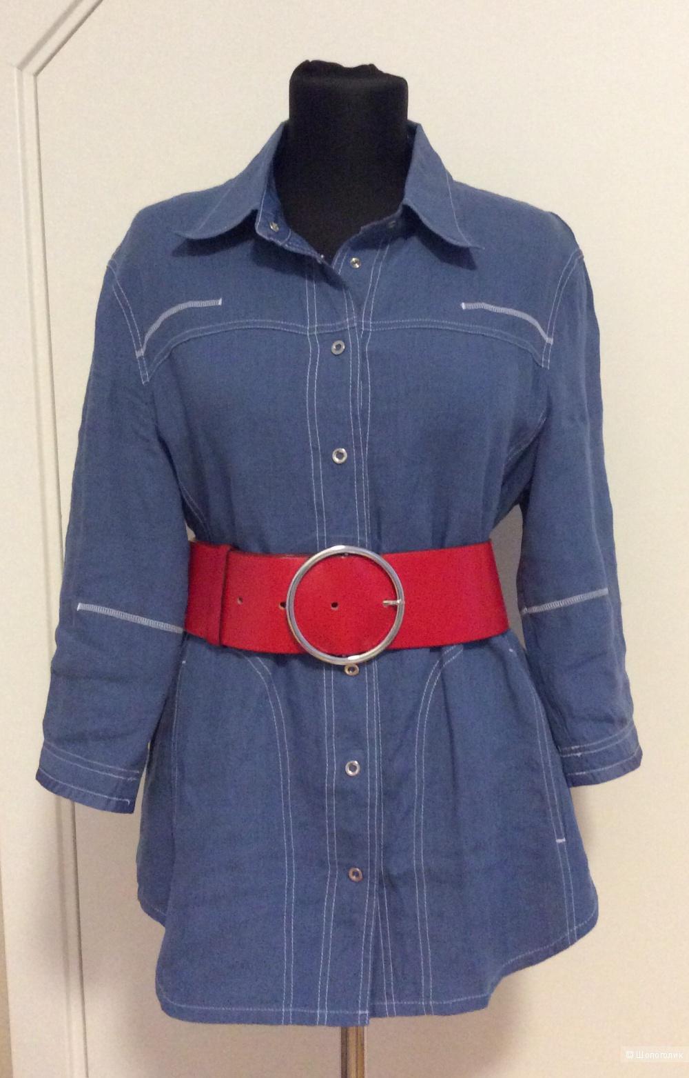 Льняная рубашка MARCCAIN р. N5 , на 46-50