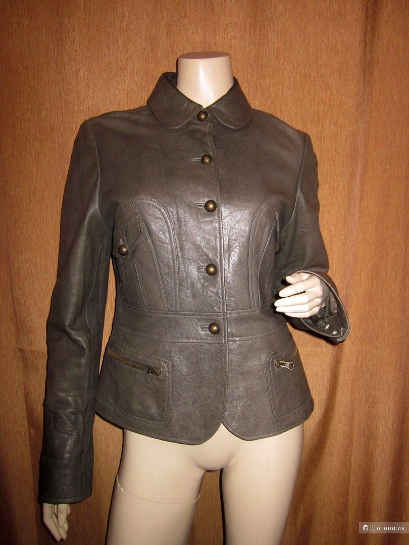 Кожаная курта Cadembo 46 размер