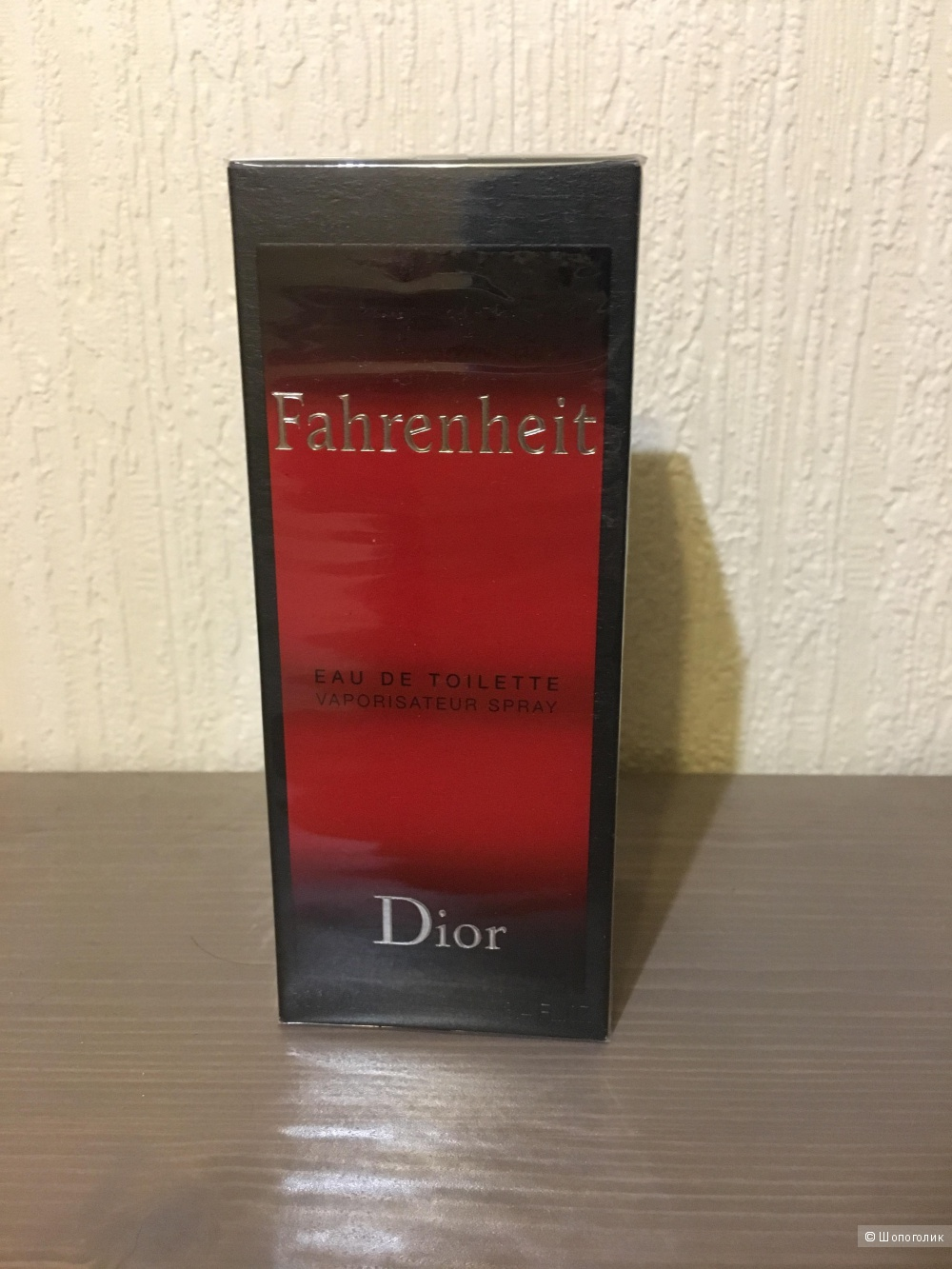 Мужская туалетная вода  Dior Fahrenheit, 100мл